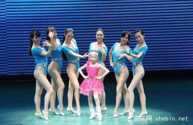 中国舍宾最美形体大赛华丽上演
